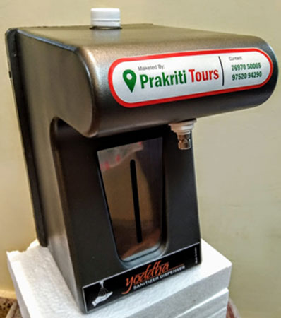 Yoddha Automatic Hand Sanitizer Dispenser